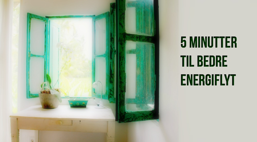 6 tips for å booste energien i hjemmet ditt